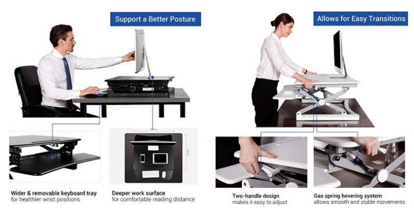 how to choose sit stand desk