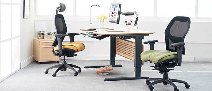 A better office ergonomic solution