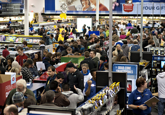 black friday and cyber monday shopping