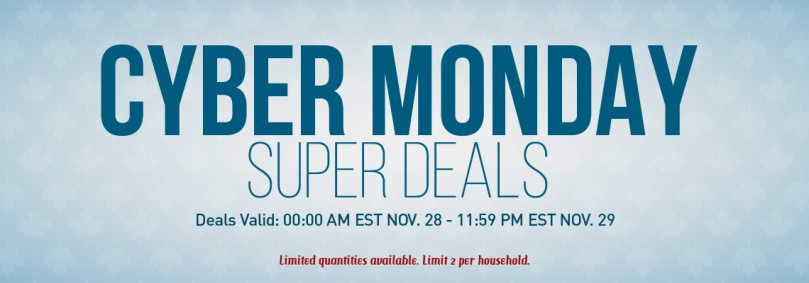2017 Cyber Monday is November 27th, the date might not be the same as this banner