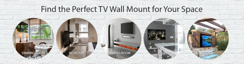 TV wall mount for all your spaces