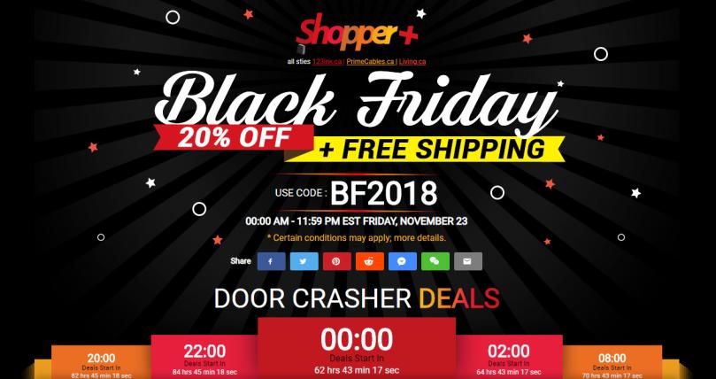 PrimeCables Black Friday 2018 Deal start on Nov 23rd