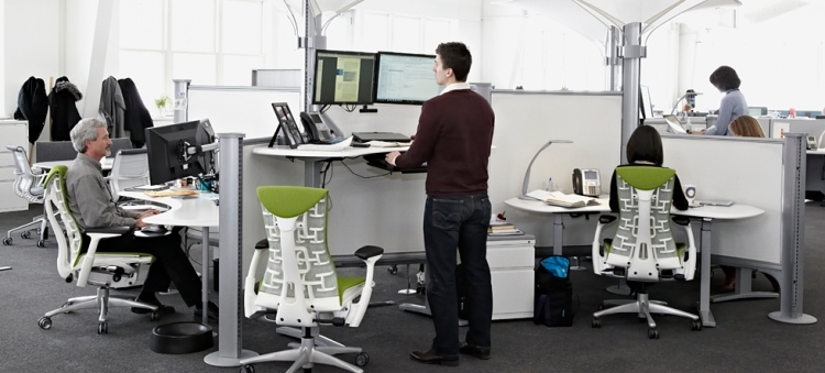 what an ergonomic office should look like in 2017
