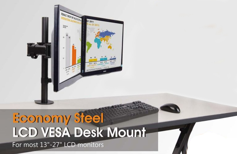 How to choose monitor desk mount from PrimeCables