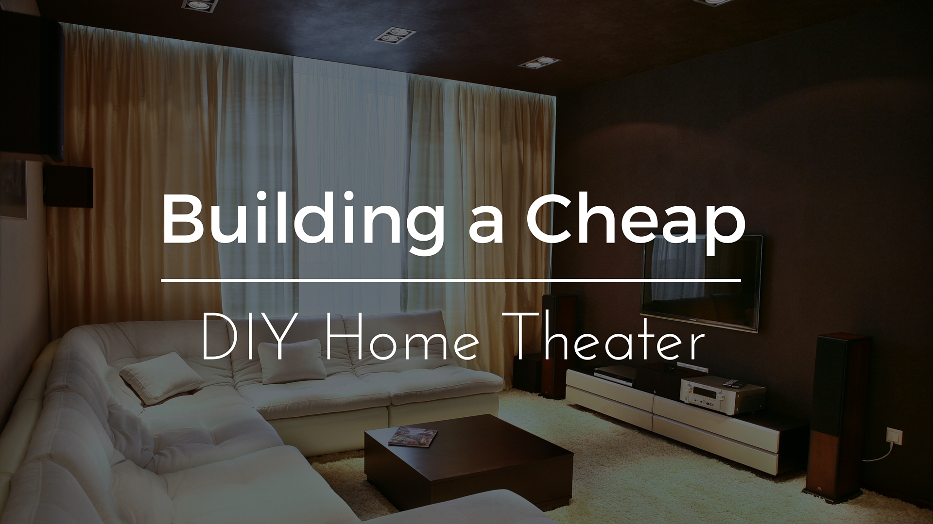 Diy Home Theater Wiring Wall Layout Introduction To Electrical Guide How Your Setup On A Low Budget Primecables Ca Blog Rh Room