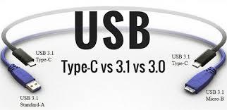 USB type c and usb 3.1 gen 1
