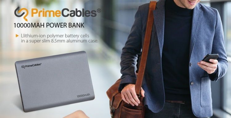 PrimeCables birthday deal - external battery bank