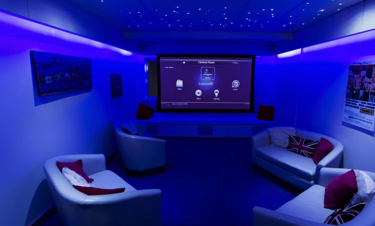 build a home theater cinema