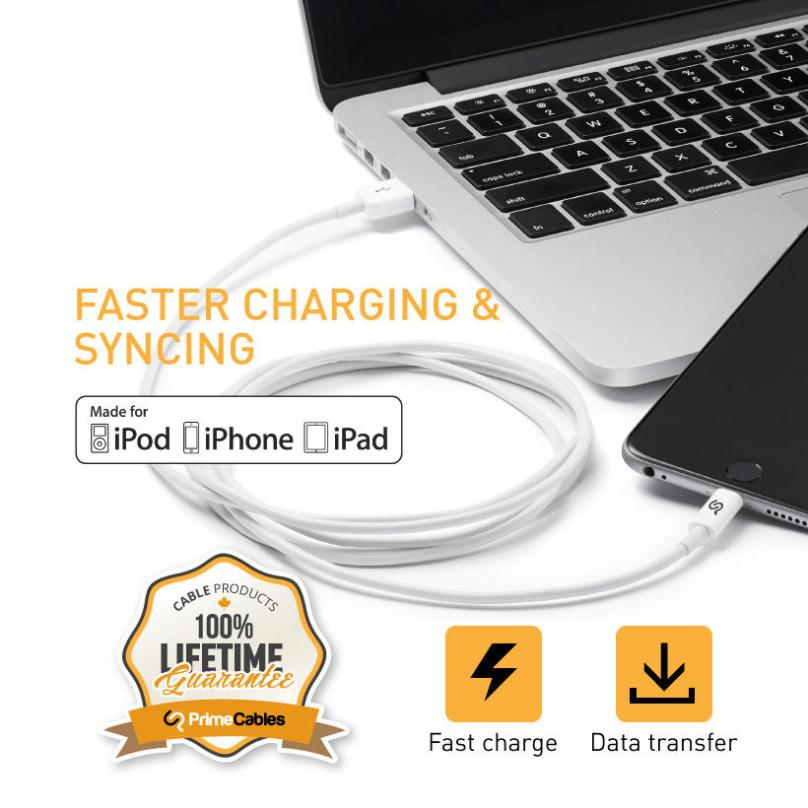 PrimeCables iPhone charging cable