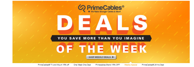 primecables weekly newsletter