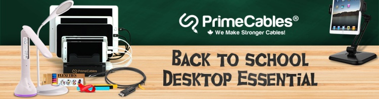 primecables back to school essentials