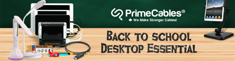 primecables back to school shopping essential