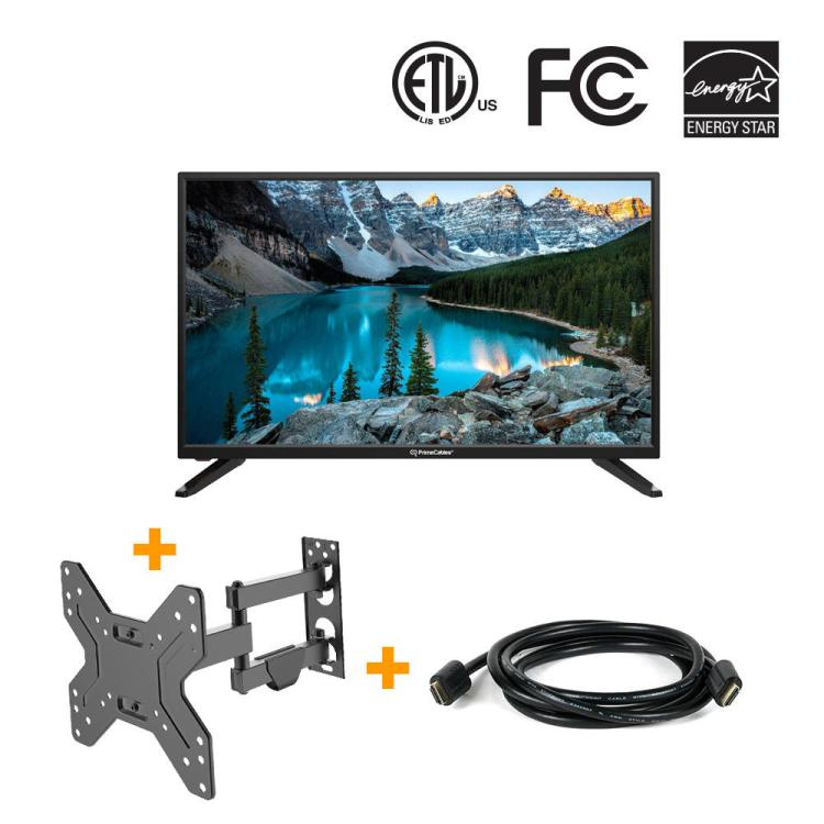 "Television 3 in 1 HD LED TV 32"" from PrimeCables.ca"