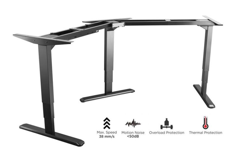 Get the best electronic sit stand desk from PrimeCables.ca