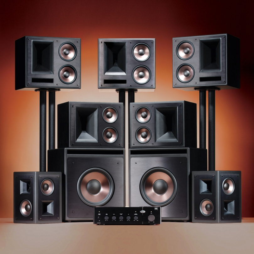 In our mind what does the actual home theater system looks like