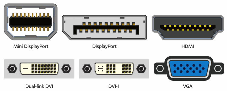 PrimeCables: Differences betweem Displayport, DVI and VGA cables