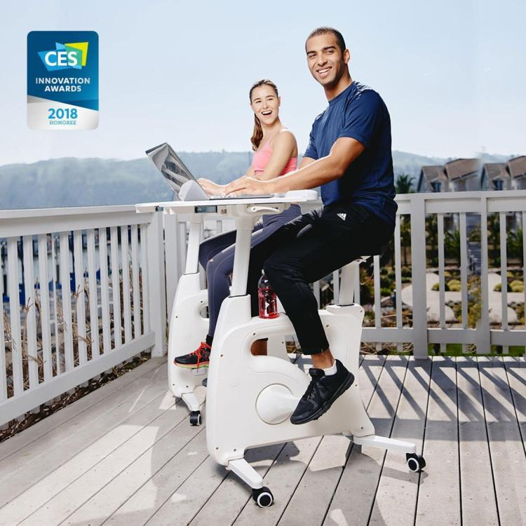 9c221-PrimeCables-Cab-F209DT-Monitor-Desk-Mounts-Exercise-Desk-Bike-Stand-up-Folding-Desk-Cycle-Height-Adjustable-Bike-PrimeCables-