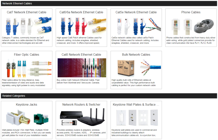 network ethernet cables