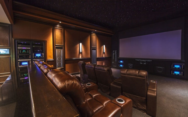 build home theater cheap in Canada